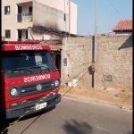 CONQUISTA: Vídeo ação dos bombeiros durante incêndio em casa no Bruno Bacelar