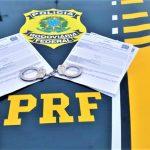 Três foragidos da Justiça são presos pela PRF nas rodovias baianas em intervalo de 3 horas